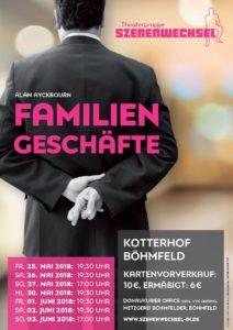 Theatergruppe Szenenwechsel Familiengeschäfte