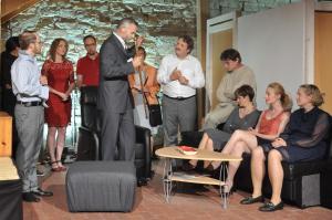 Theaterguppe Szenenwechsel - Familiengeschaefte - Jacks Ernennung