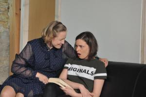 Theaterguppe Szenenwechsel - Familiengeschaefte - Poppy und Sammy