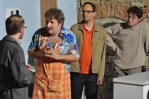 Theaterguppe Szenenwechsel - Familiengeschaefte - Verhandlung