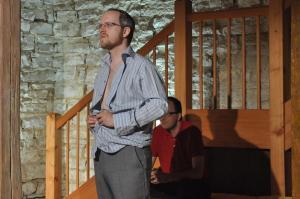 Theaterguppe Szenenwechsel - Familiengeschaefte - Jack und Cliff
