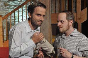 Theaterguppe Szenenwechsel - Familiengeschaefte - Benedict und Jack
