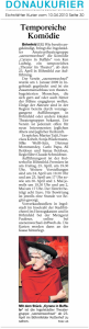 Theatergruppe Szenenwechsel Donaukurier 10.04.2010 Cyrano in Buffalowww.donaukurier.de