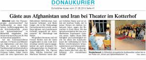 Theatergruppe Szenenwechsel Donaukurier Eichstätt 21.05.2016 Arsen und Spitzenhäubchenwww.donaukurier.de