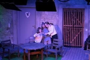 Theatergruppe Szenenwechsel Was ihr wollt - Sir Andrew, Narr, Sir Toby