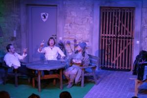 Theatergruppe Szenenwechsel Was ihr wollt - Sir Toby, Sir Andrew, Narr