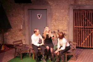 Theatergruppe Szenenwechsel Was ihr wollt - Sir Toby, Maria, Sir Andrew
