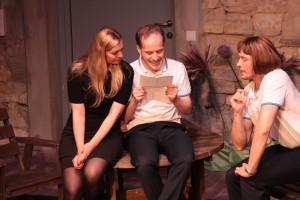 Theatergruppe Szenenwechsel Was ihr wollt - Maria, Sir Toby, Sir Andrew