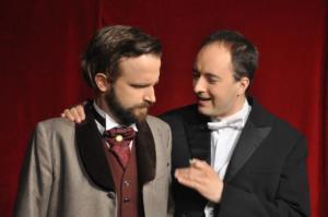 Theaterguppe Szenenwechsel - Ernst sein ist alles - Jack Worthing und Algernon Moncrieff