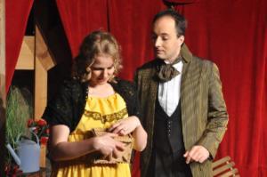 Theaterguppe Szenenwechsel - Ernst sein ist alles - Cecily und Ernst
