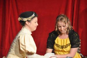 Theaterguppe Szenenwechsel - Ernst sein ist alles - Gwendolen und Cecily