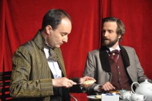 Theaterguppe Szenenwechsel - Ernst sein ist alles - Algernon und Jack