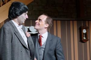 Theatergruppe Szenenwechsel Arsen und Spitzenhäubchen - Dr. Einstein und Jonathan Brewster(c) adamo