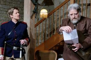 Theatergruppe Szenenwechsel Arsen und Spitzenhäubchen - Teddy Brewster und Mr. Witherspoon(c) adamo